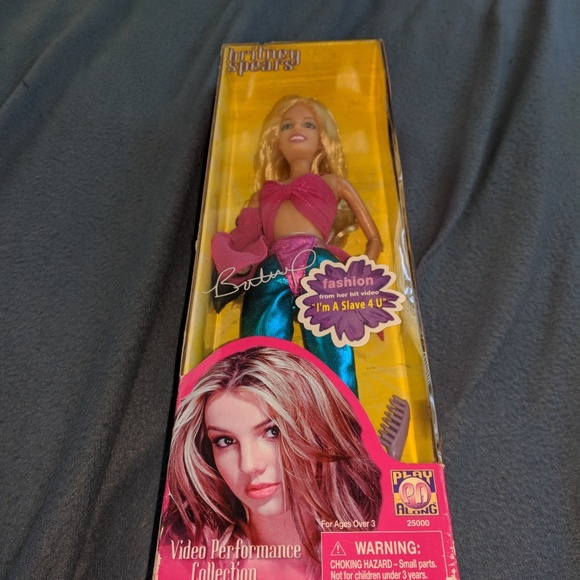 Other Britney Spears 2001 Barbie Doll New In Box Rare Poshmark
